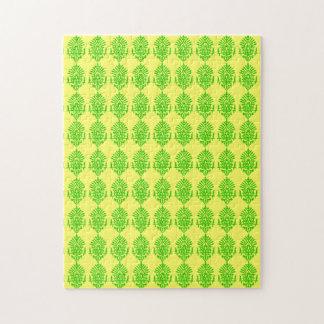 Customizable India Block Print Jigsaw Puzzle