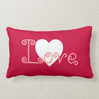 Customizable Love Heart Pillow
