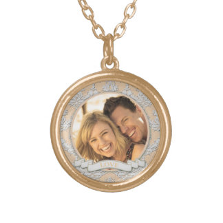 Customizable Love Round Necklace_Small Necklaces