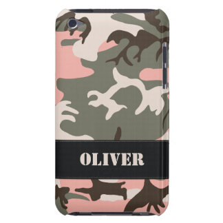 Customizable Pink Camo iPod Touch Case