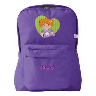 Customizable Poppy Backpack