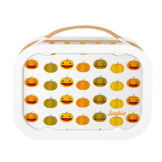 Customizable Pumpkins Lunch Box