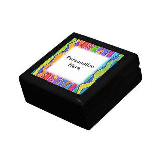 Customizable RAINBOW STRIPES GIFT BOX 2
