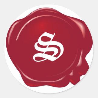 Customizable Red Wax Seal