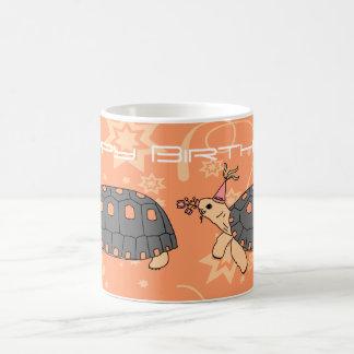 Customizable Redfoot Tortoise Birthday Mug