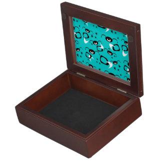 Customizable Retro Spiders Keepsake Box