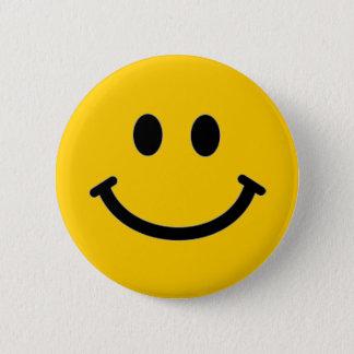Customizable Smiley Face Button Pin
