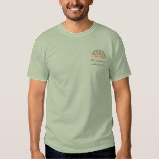 Customizable Star Tortoise Embroidery Shirt
