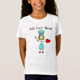 Customizable Stick Figure Chef T-Shirt