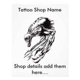Customizable Tattoo Art Flyer