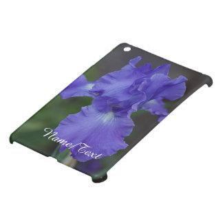 Customize Beautiful Blue Iris in Bloom iPad Mini Cases