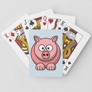 Customize Cute Pig Playing Cards