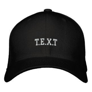 customize baseball cap