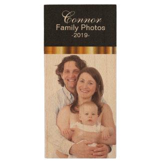 Customize Photo Design Template Wood USB 2.0 Flash Drive