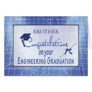 Customize Relationship Engineering Graduation Cong Card