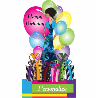 Customize Template for a Birthday or Bachelorette Photo Sculpture
