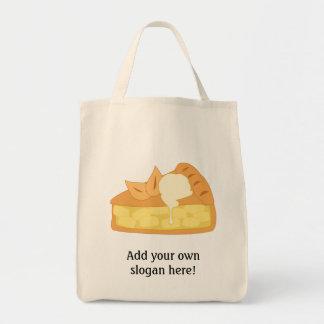 Customize this Apple Pie Slice graphic Tote Bag