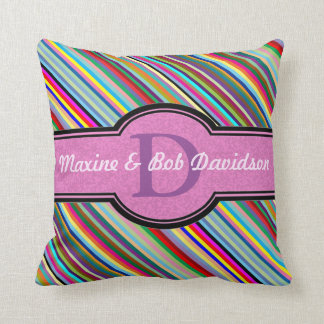 Customize this multicolor Figaro Cushions