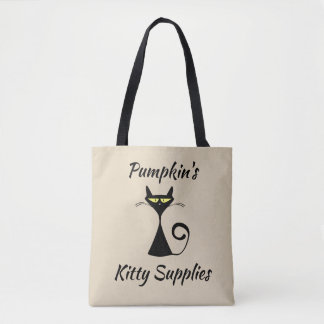 Customizeable Kitty Supplies Tote Bag