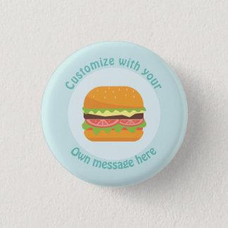 Customized Burger 3 Cm Round Badge