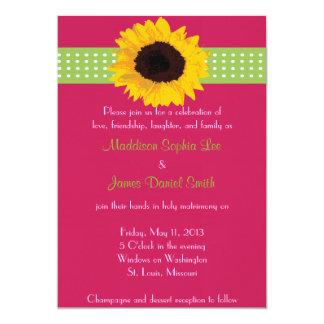 Customized Daisy Wedding Invitations
