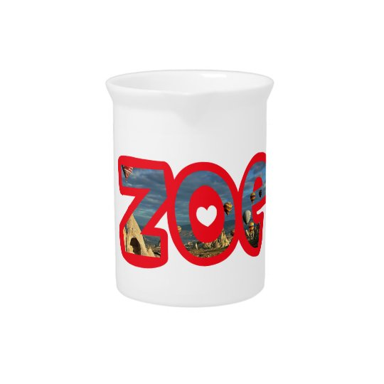 Customized jar Zoe