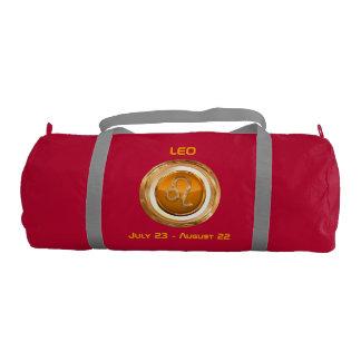 Customized Leo Astrological Symbol Gym Bag