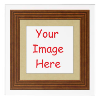 Customized personalized framed add your picture to acrylic print