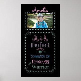 Customized Princess/Warrior Poster