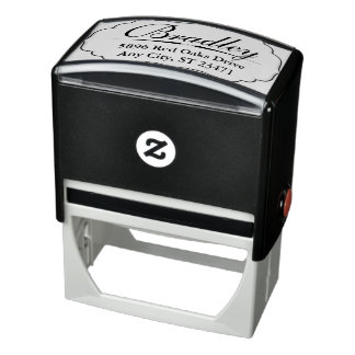 Customized Rubber Stamp with Large Name