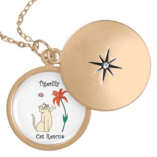 Customized Tigerlily Necklace