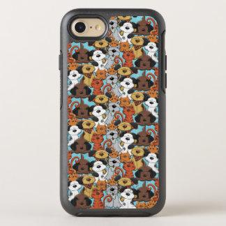 Cut Brown Animal Pattern OtterBox Symmetry iPhone 7 Case