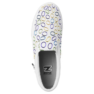 Cute Abstract Pattern Cool Printed Shoes