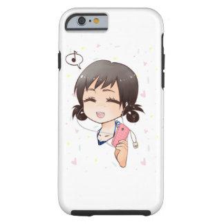 Cute and fun chibi iPhone box Tough iPhone 6 Case