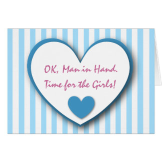 Cute and Funny Be My Bridesmaid BLUE STRIPES V02 Cards