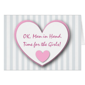 Cute and Funny Be My Bridesmaid SILVER STRIPES V03 Cards