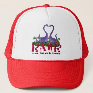 Cute and Romantic Dinos - Rawr Trucker Hat