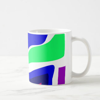 Cute Animal Blue Coffee Mugs