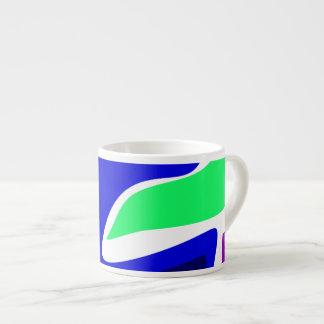 Cute Animal Blue Espresso Mugs