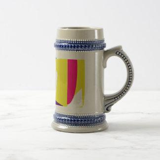 Cute Animal Yellow Coffee Mugs