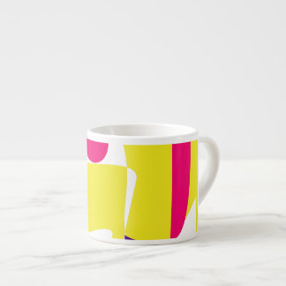 Cute Animal Yellow Espresso Cup