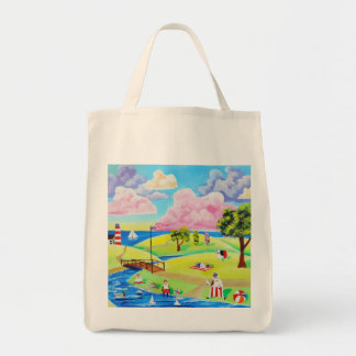 Cute animals at the seaside by Gordon Bruce Tote Bag