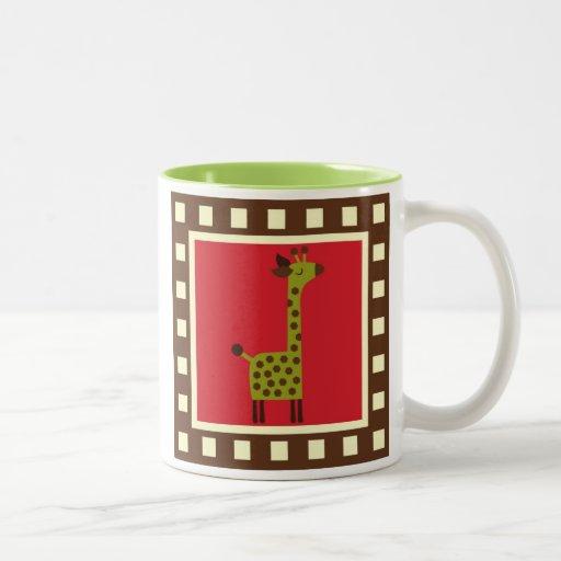 Cute Animals Giraffe Mug