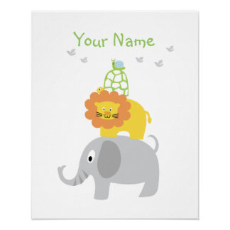 Cute Animals Poster