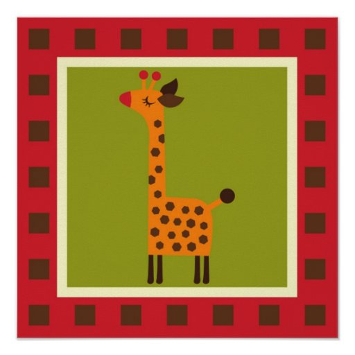 Cute Animals Print