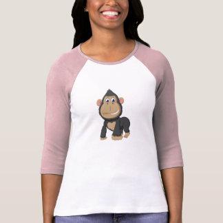 Cute Animated Gorilla T-Shirt