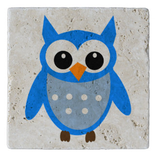 Cute Animated Owl Trivet