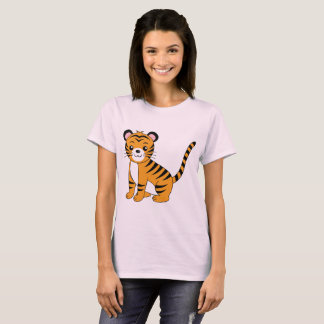 Cute animated Tiger T-Shirt