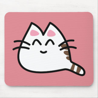 Cute Anime Cat Mouse Pad
