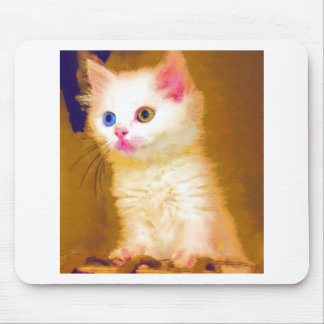 Cute Artsy Cat Mouse Pads